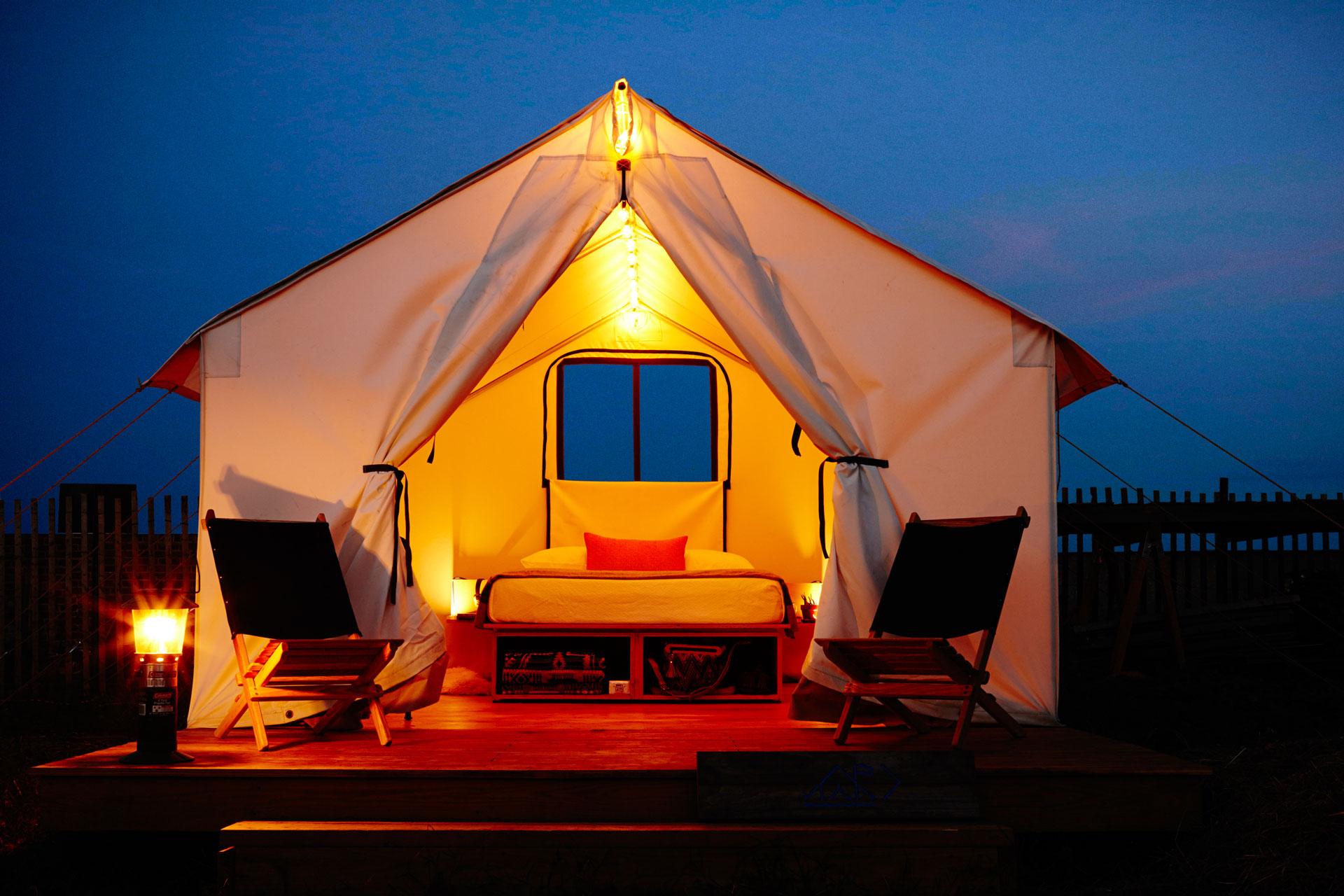 Camp Rockaway Tent