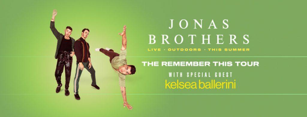Jonas Brothers Saratoga Performing Arts Center September 2021